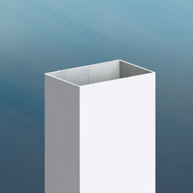 Rectangular Aluminum Pole