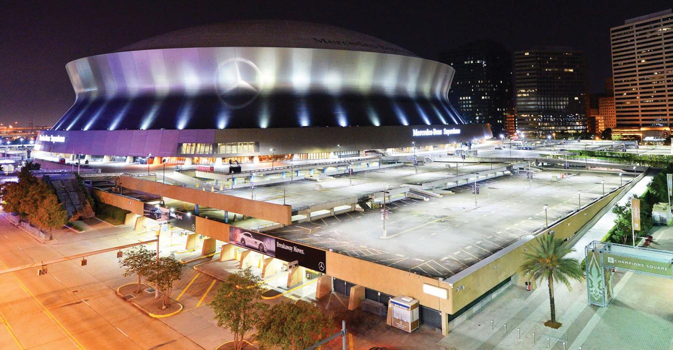 MERCEDES-BENZ SUPERDOME | New Orleans, LA