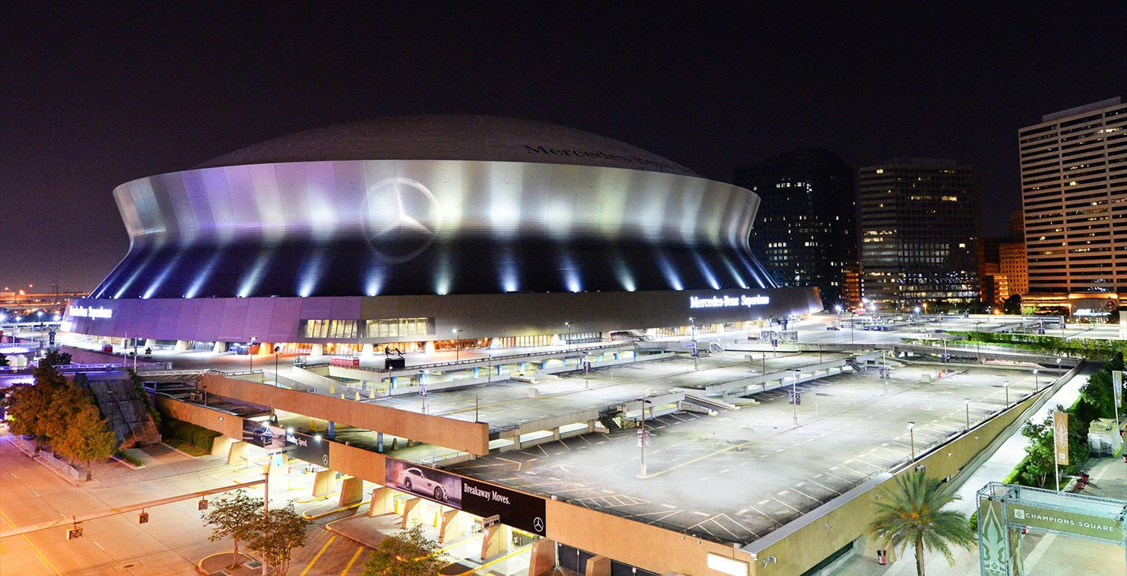VUE | MERCEDES-BENZ SUPERDOME