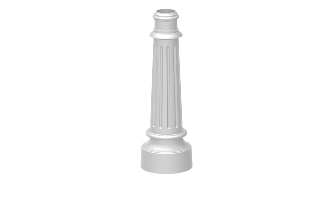 DECORATIVE POLE BASE 200